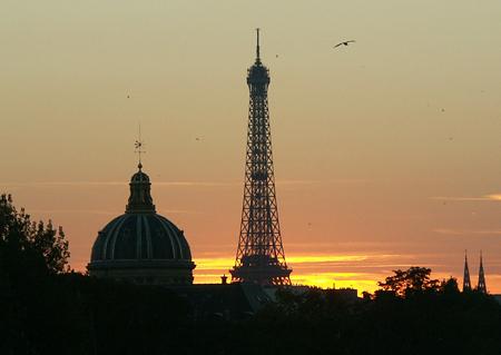 4 uomini in camper for Parigi champ elisee